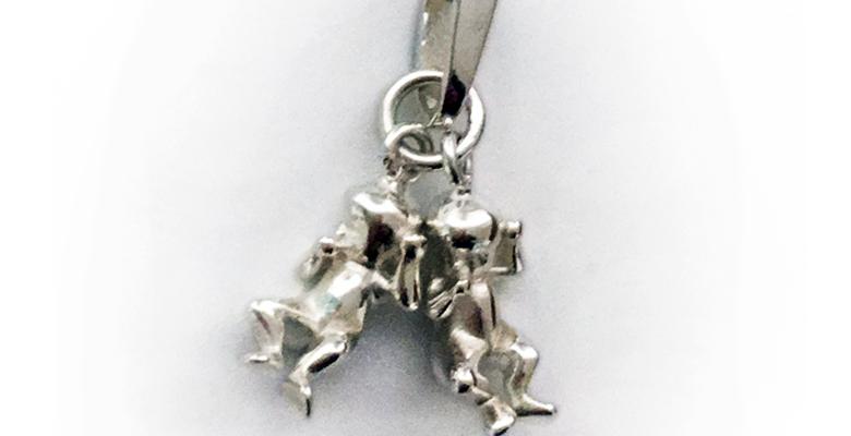 Anhänger Babies in Silber