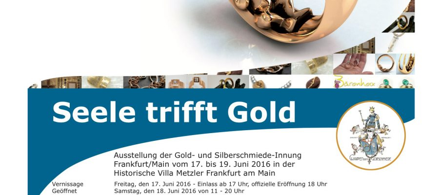 Flyer Seele trifft Gold